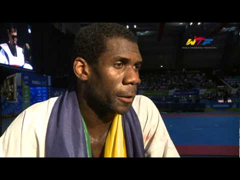 Interview du Champion du monde 2013, Anthony OBAME Gabon)
