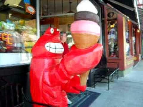 Lobster Selling Ice-Cream