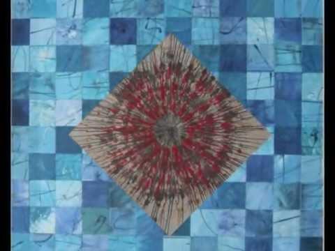 """""""Explosion for fire"""" e """"Monocromia modulare in blu"""" di Leonardo Basile"""