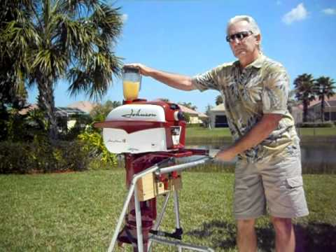Gas Powered Blender Johnson Outboard