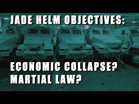 Jade Helm to Coincide with Economic Collapse and False Flag Terror?