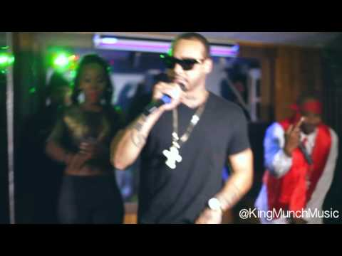 King Munch Performs @ Beso Lounge, Hosted By Bianca Bonnie (L&HH)