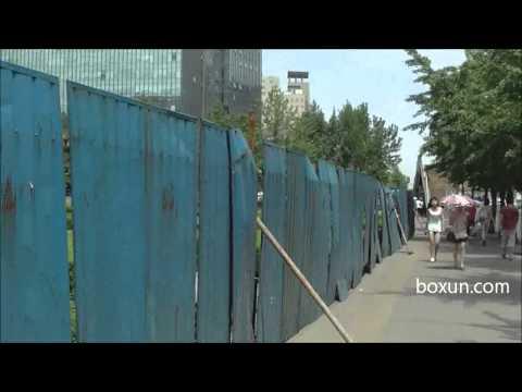 北京中关村守望教会户外礼拜地点实拍