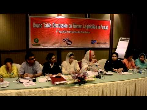 National consultation meeting in Lahore on 8th May