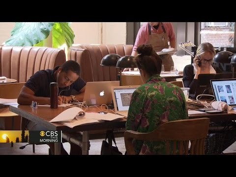 Freelancers, start-ups fuel co-working space trend