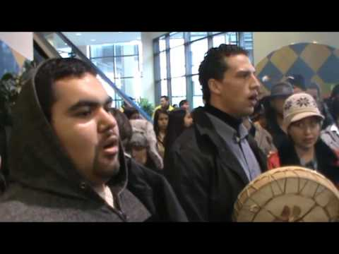 Idle No More Metrotown  Dec 22 2013 pt 2