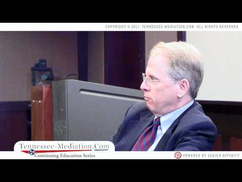Business & Employment Attorney Mark Travis discusses Business Mediation - Tennessee-Mediation.com