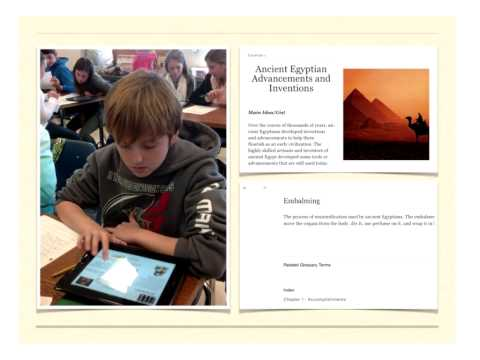 """Westhampton Beach Middle School Students on """"iBooks in the Classroom"""""""