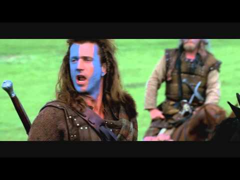 Braveheart Freedom Speech Full Scene 1080p [Blu-Ray]