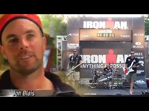 Ironband - live @ IRONMAN Boulder - Age Group Body, Podium Heart - for the Blazeman