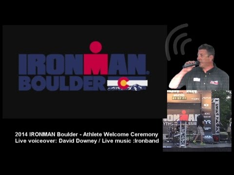 2014 IRONMAN Boulder Opening Ceremony - IRONMAN History Video/Musical Medley