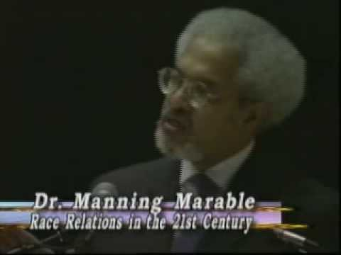 Race Relations in the 21st Century - Prof. Marable
