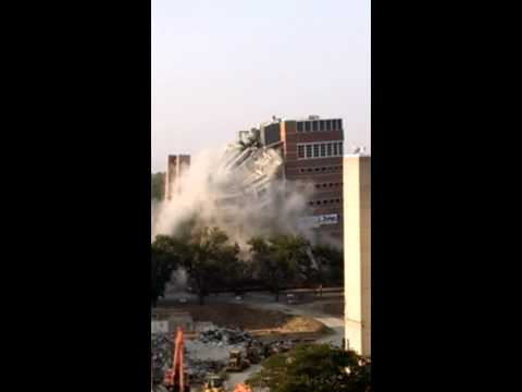 University of Colorado Health Sciences Center Building Implosion