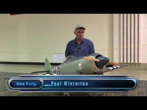 Paul Winterton's new Sea Fury