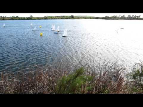 """2011 US IOM Nationals """"A"""" Fleet Race"""