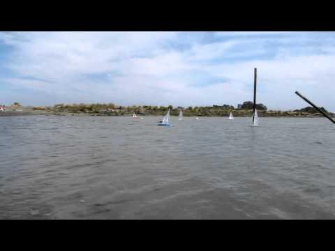 RC IOM Racing at Loch Lomond Marina May 22,2011