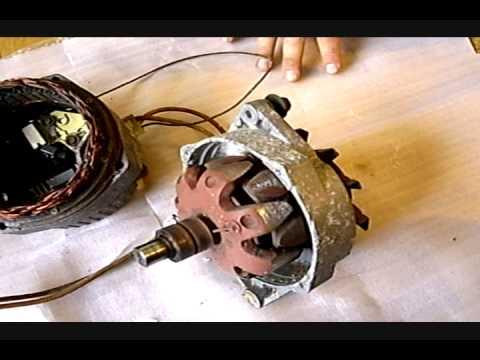 Permanent Magnet Alternator generator, part 1