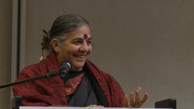 Keynote speech Vandana Shiva