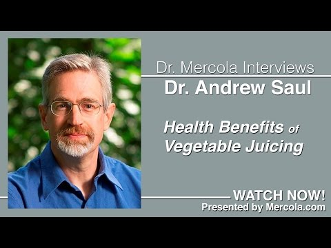 Andrew Saul Discusses Vegetable Juicing (condensed version)