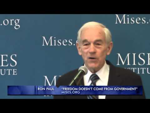 Freedom Doesn't Come From Government | Ron Paul