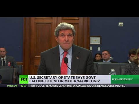 Kerry says US falling behind in media strategy, asks for more money to counter RT