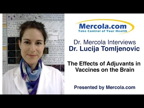 Dr. Mercola Interviews Dr. Tomljenovic About Vaccine Adjuvants