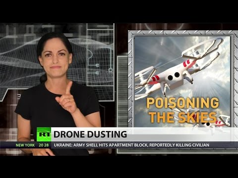 US approves drone to dump toxins on crops
