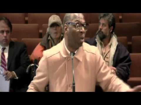 Alabama Preacher Cedric Hatcher, Goes Off About Gay Marriage During A City Hall Meeting!