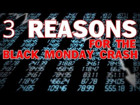 3 Reasons for the Black Monday Crash