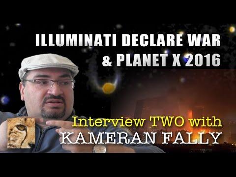 PROJECT CAMELOT:  ILLUMINATI DECLARE WAR  & PLANET X 2016 - KAMERAN INTERVIEW TWO