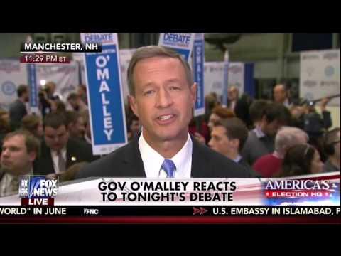 "Martin O'Malley: ""Secretary Clinton Has Taken Money Hand Over Fist"""