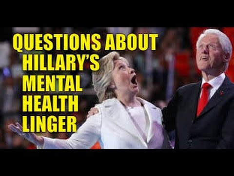 IT'S DEMENTIA? Former Employee of Hillary's Dr. reveals diagnosis-should DISQUALIFY her