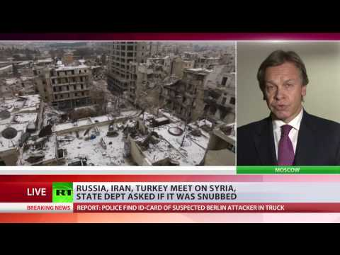 'Obama administration lost its game in Syria' – Russian senator Pushkov