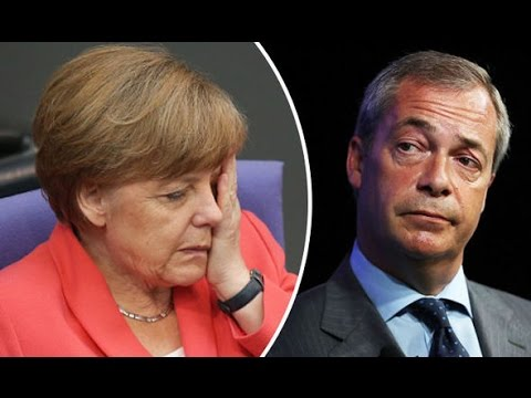 Nigel Farage: Nigel on Angela Merkel.