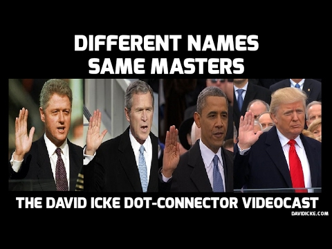 Different Names - Same Masters: The David Icke Dot-Connector Videocast