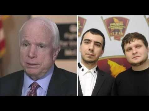 Russian hackers Prank phone call to Senator McCain!