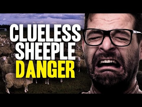Clueless Sheeple are a DANGER to you!