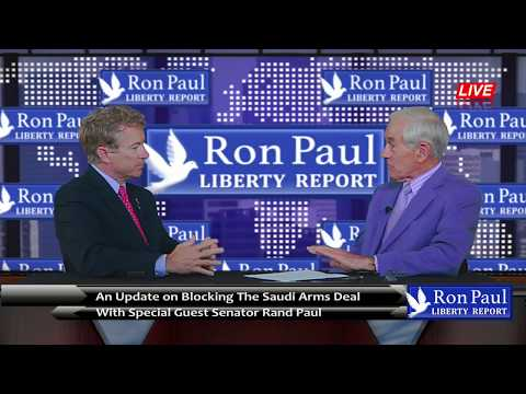 An Update on Blocking The Saudi Arms Deal with Senator Rand Paul