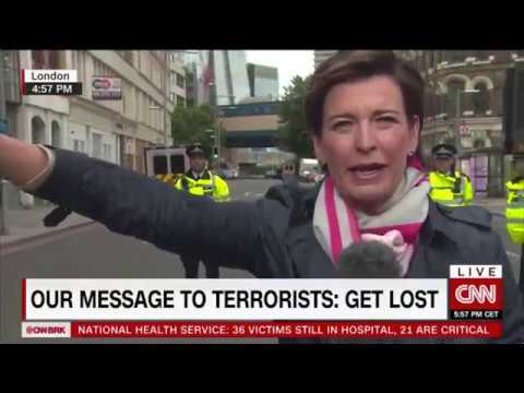 PROOF: CNN caught staging FAKE NEWS SCENE (London Attacks, June 3rd 2017)