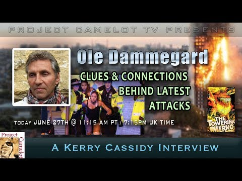 OLE DAMMEGARD RE LATEST ATTACKS: CLUES & CONNECTIONS & MAX EGAN RE  5G