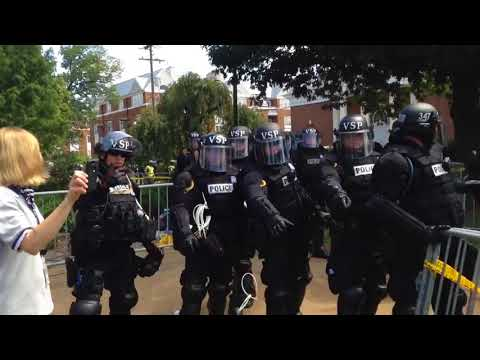 Charlottesville Police Shut Down Unite The Right event.