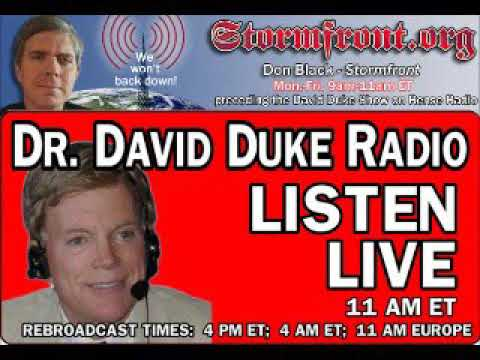 Dr David Duke Radio Show (11th of August 2017)