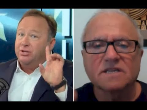 Alex Jones Heated Debate On Trump & Afghanistan | Alex Jones vs Steve Pieczenik