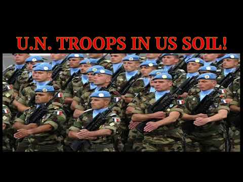 U.N. TROOPS ON U.S. SOIL