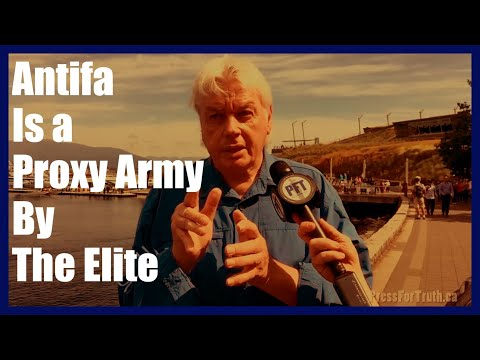 David Icke Shatters The Antifa Left Alt Right Paradigm