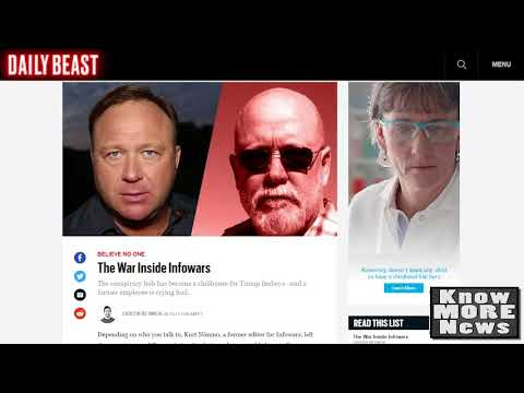 Infowars Employees Expose Alex Jones