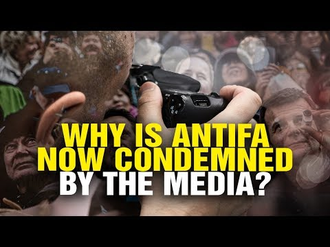 Why is ANTIFA suddenly CONDEMNED by the media?
