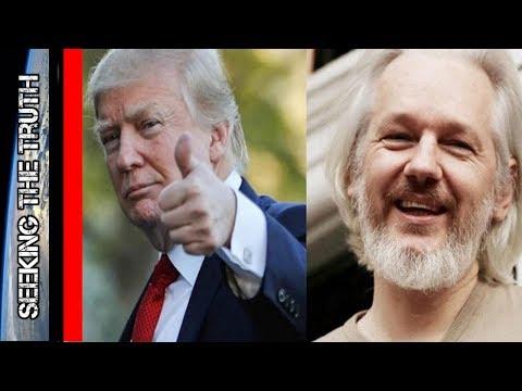 Trump To Consider Pardoning Julian Assange