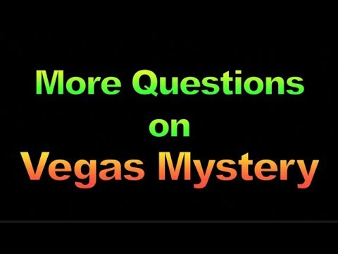 More Question on Vegas Mystery, 1830