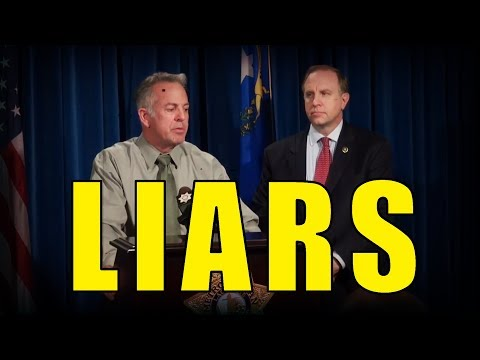 The FBI and Las Vegas Police are LYING!